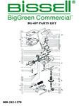 BG697 Sweeper Parts List