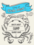 Crab Meat Diagram