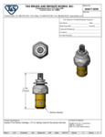 Diagram for T&S Brass 006477-40NS Eterna Spindle Assembly