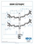 Diagram for Tripp Lite DDR1327SQFC Monitor Arm