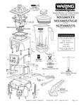 MX1000XTX, MX1000XTXGR, SUP1000XTX Parts Diagram