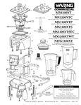 Parts List - MX1100XT Series