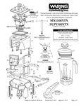 MX1100XTX, SUP1100XTX Parts Diagram