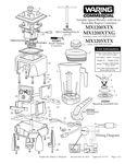 MX1200XTX, MX1200XTXG, MX1205XTX Parts Diagram