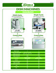 Noble Products Dish Machines Diagram