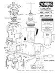 MX1200XT, MX1200XTP, MX1200XTS Parts Diagram