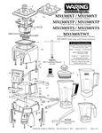 MX1300XT/P/S, MX1300XTWT, MX1500XT/P/S Parts Diagram