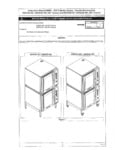 Moffat E35 Select Convection Ovens Stacking Kit Installation Manual