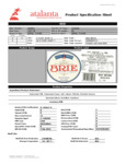 Eiffel Tower Imported Soft Ripened Brie Cheese Nutrition Information