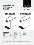 Elkay DSBS130UVPC_DSBSH130UVPC_Manual