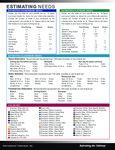 International Tableware Estimating Needs PDF