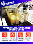 Fryclone Fryer Oil Supply Sell Sheet