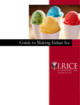 Guide to Italian Ice - New