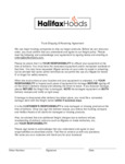 Halifax Receiving Agreement