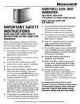 Honeywell HCM350 Manual