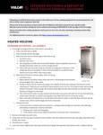 EXTENDED SHUTDOWN & RESTART OF YOUR VULCAN COOKING EQUIPMENT