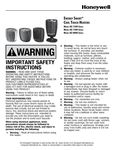 Honeywell Cool Touch Heater Manual