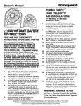 Honeywell HT900 Manual