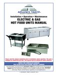 Advance Tabco Manual