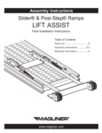 Instructions for Magliner Slider and Posi-Step Ramps Lift Assist