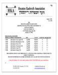 Jolly Rancher Slushy Mix Kosher Certificate
