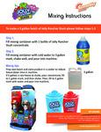 Jolly Rancher Slush Mixing Instructions