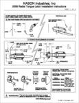 Kason 58 SafeGuard Instructions