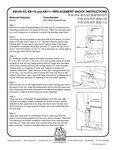 Koala Kare KB100-ST, KB110, KB11 Shock Instructions