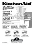 KitchenAid KGM Manual