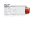 Kiwa Cocktail Recipe