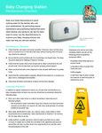Koala Kare KB310/311 Sanitation Instructions