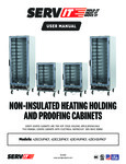 L01-672_CLARK SERVIT NON INSULATED HEATED HOLDING & PROOFING CABINETS IFU_04-27-21