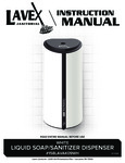 Lavexsoapdispenser-158LAVAK09WH_Manual