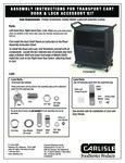 Carlisle_Lock & Key Door Hardware for Utility Carts_Assembly Instructions