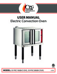 CPG Electric Convection Oven No Timer Manual