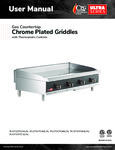 CPG Chrome Griddle Manual