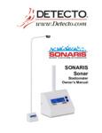 Manual for Cardinal Detecto SONARIS Touchless Sonar Stadiometer