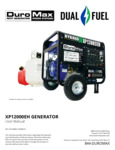Manual for DuroMax XP12000EH Portable Generator