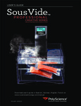 Manual for PolyScience Sous Vide Immersion Circulator Head