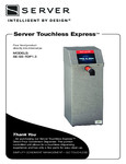 Manual for Server 100259 Touchless Express Countertop Direct Pour Condiment Dispenser