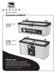Manual for Server 87740 ConserveWell Dipper Well