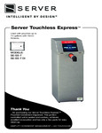 Manual for Server Touchless Express Condiment Dispensers