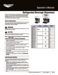 Manual for Vollrath VBB Refrigerated Beverage Dispensers