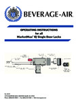 Bev-Air MarketMax IQ Smart Lock Instructions