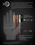 Mercer Cut Resistant Gloves Size Chart
