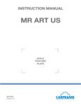 Carpigiani Mister Art Manual