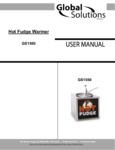 Nemco GS1560 Global Solutions Hot Fudge Dispenser Manual