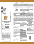 Noble Chemical Sani-512 1 Gallon Sanitizer Disinfectant Label