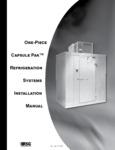 Nor-Lake Walk-In Refrigeration Manual