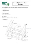 National Public Seating STP32 Assembly Instructions